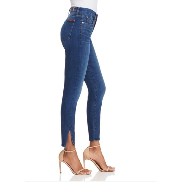 7 For All Mankind Denim - 7 For All Mankind Aubrey the Ankle Skinny